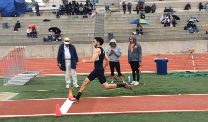 Photo for Track Makes Leaps and Bounds at Point Loma Invitational